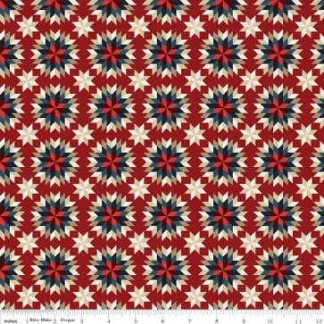 American Heritage Quilt Red