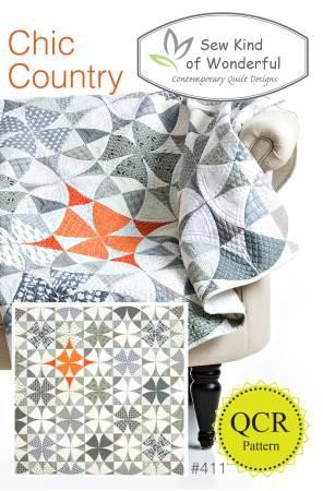 Chic Country  411 QCR by Sew Kind of Wonderful