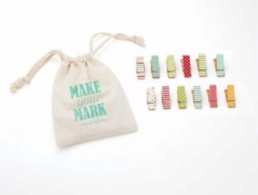Clothespins Make Your Mark Brights
