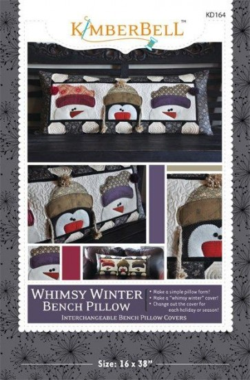 Kimberbell Whimsy Winter Bench Pillow