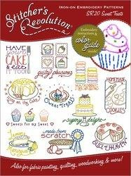 Stitchers Revolution SR20 Sweet Treats Iron-On Embroidery Pattern