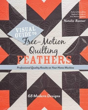 Visual Guide to Free Motion Feathers by Natalie Bonner