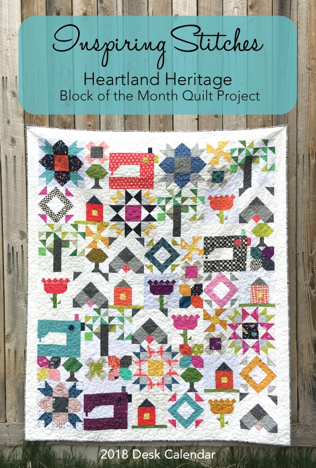 2018 Heartland Heritage Block of the Month Quilt Project - 2018 ... : block of the month quilt - Adamdwight.com