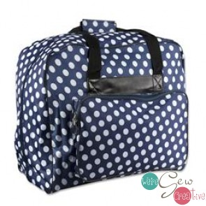 Dotty Sewing Machine Bag