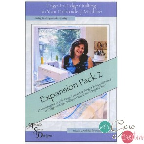 Edge to Edge Quilting on Your Embroidery Machine - Expansion Pack 2