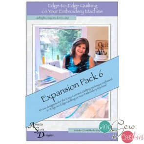 Edge to Edge Quilting on Your Embroidery Machine - Expansion Pack 6