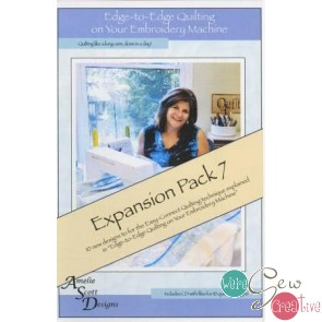 Edge to Edge Quilting on Your Embroidery Machine - Expansion Pack 7