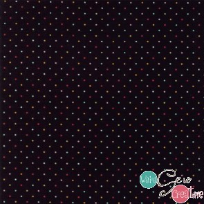 Essentially Yours Black Multi Dots 8654 142