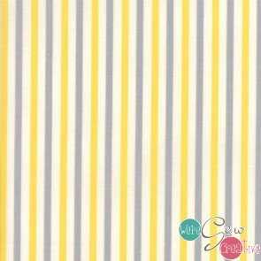 Essentially Yours YellowSilver Stripe 8652 52