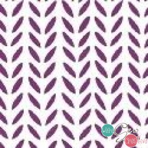 Flourish Herringbone Berry 43513-3
