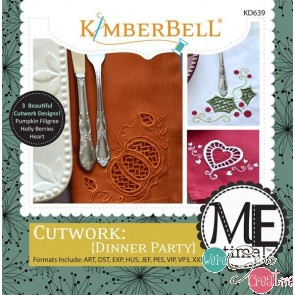 Kimberbell Cutwork Dinner Party