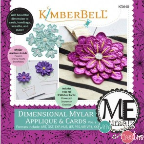 Kimberbell Dimensional MylarApplique  Cards Vol 1