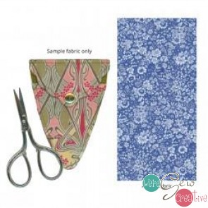 Liberty of London Scissors  Sheath- Blue Floral