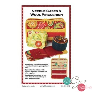 Needle Cases  Wool Pincushion