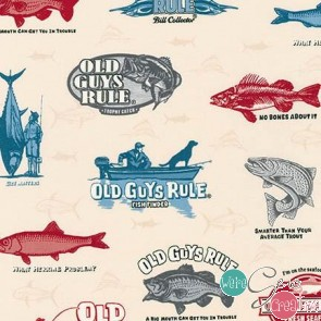 Old Guys Rule Signs AOD-16701-14 Natural