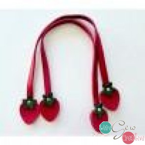 Strawberry Handles 16 Red