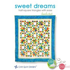 Sweet Dreams Half Squares Triangles w Ease