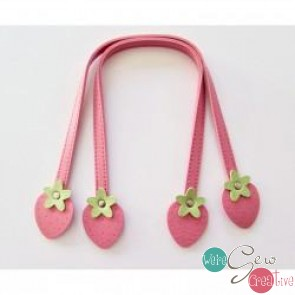 Sweet Fruit Handles 16 Pink