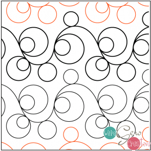 Tear Away Quilting Elementz Double Bubble Petite UTA-1018
