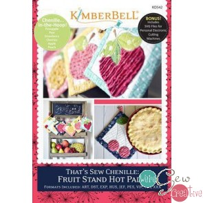 Thats So Chenille  Fruit Stand Hot Pads  KD542