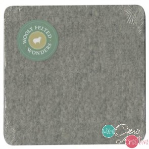 Wooly Felted Ironing Mat 17x17