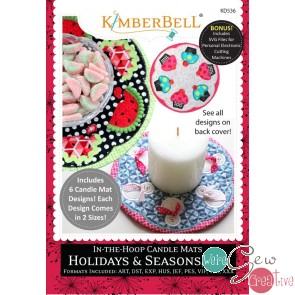 Kimberbell In the Hoop Candle