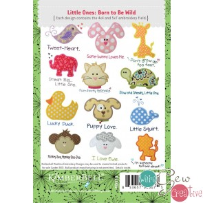 Kimberbell Little Ones: Born to be Wild CD KD513