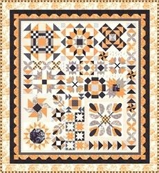 Halloween Figs Sampler Block of the Month