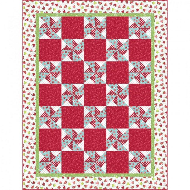Watermelon Picnic Quilt Kit By Kimberbell