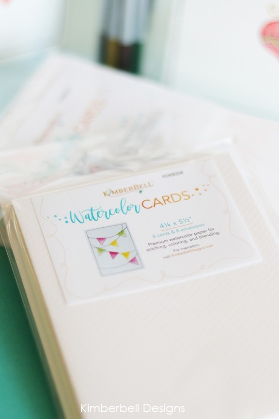 Kimberbell Watercolor Wishes Embroidery CD KD565
