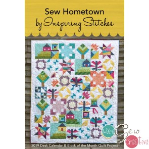2019 Sew Hometown Block of the Month Quilt Calendar