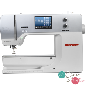 Bernina 750 QE E used sewingembroidery machine