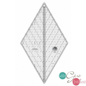 CGR 60 Degree Diamond Ruler