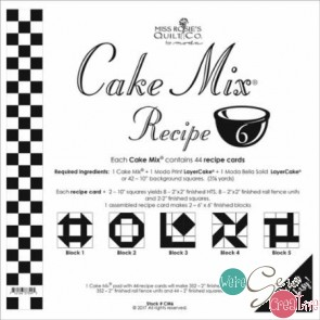 Cake Mix Recipe 6  by Miss Rosies Quilt Co