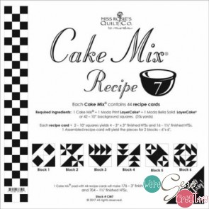 Cake Mix Recipe 7 by Miss Rosies Quilt Co
