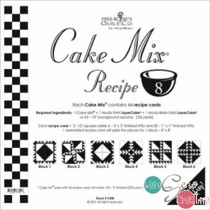 Cake Mix Recipe 8  by Miss Rosies Quilt Co