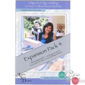 Edge to Edge Quilting on Your Embroidery Machine - Expansion Pack 4