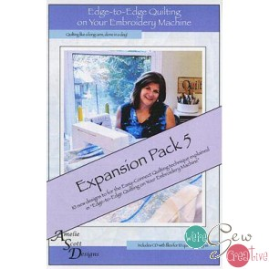 Edge to Edge Quilting on Your Embroidery Machine - Expansion Pack 5