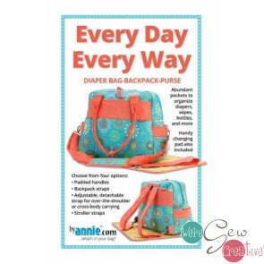 Every Day Every Way Diaper Bag-Backpack-Purse