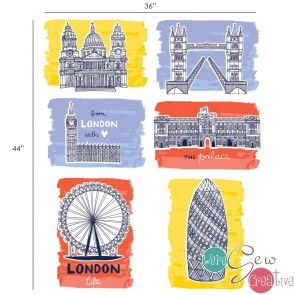 From London with Love Sites Panel Multi