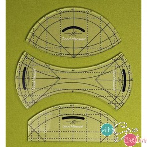 Good Measure Every Curve Set of 3 Longarm Quilting Templates