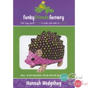 Hannah the Hedgehog by Funky Friends Factory