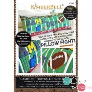 KB Fame On Football Bench Pillow KD548