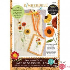 KB Fun with Fringe Jars of Seasonal Flowers CD  KD545