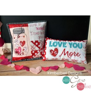 Kimberbell Bench Buddies February Fabric Kit