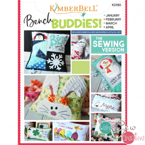 Kimberbell Bench Buddies Series Jan-Apr  KD190 Sewing Version