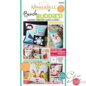 Kimberbell Bench Buddies Series Jan-Apr  KD570