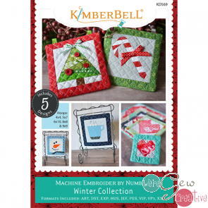 Kimberbell Machine Emb by Number Winter Collection  KD569