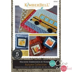 Kimberbell Machine Embroider by Number Autumn
