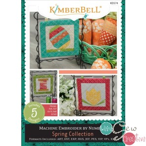 Kimberbell Machine Embroider by Number Spring Collection